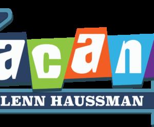 "Very Large ""No Vacancy with Glenn Haussman"" Logo"