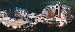 Foxwoods from above