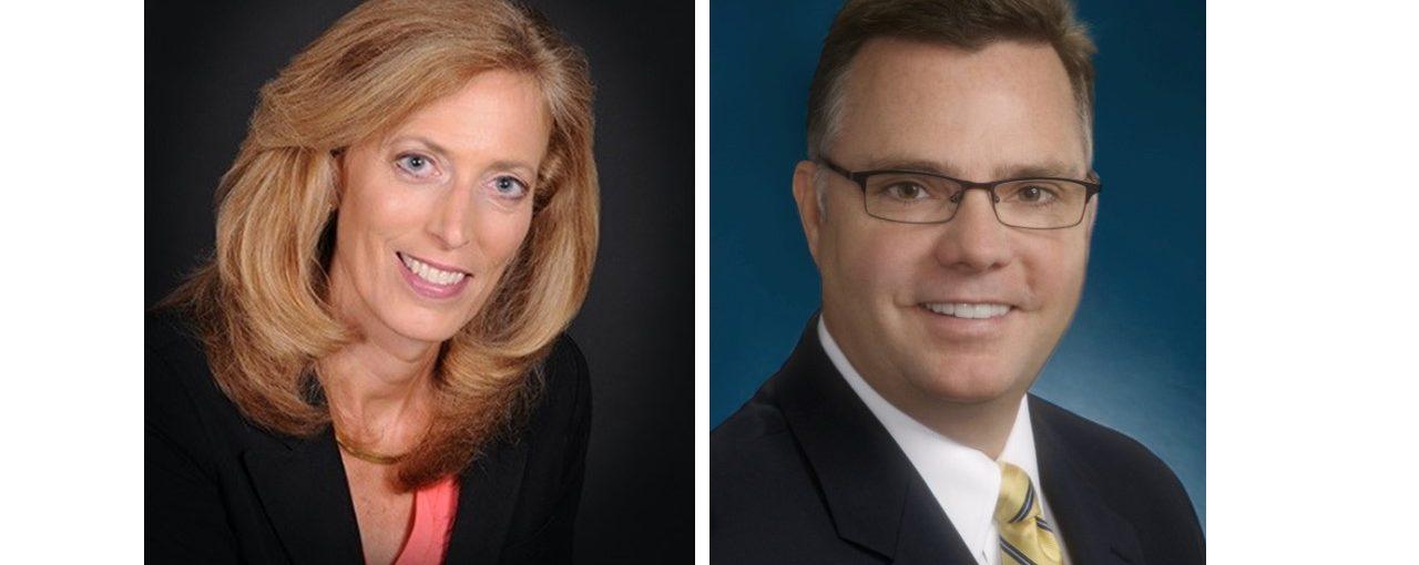 Wendy Hoekwater and Ron Burgett of Woodspring