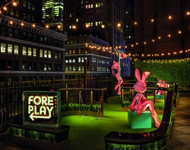 Fore Play Golf Moxy Times Square