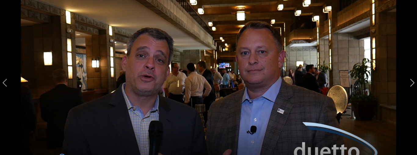 Glenn and Chris Green, COO, Chesapeake Hospitality