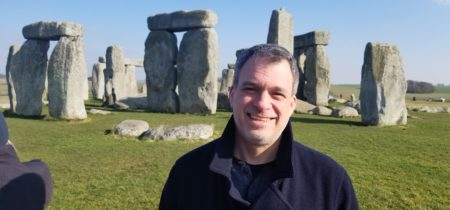 Glenn at Stonehenge