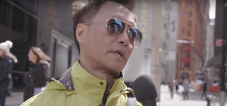 Man on street interview