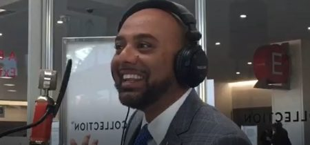 HP Patel in studio