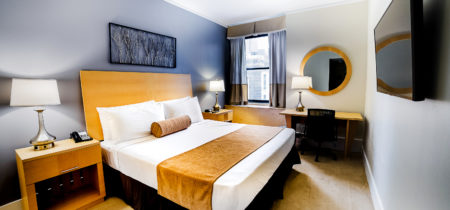 Hotel Penn room