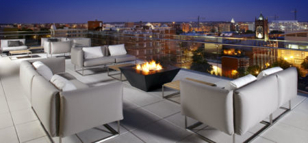 Cambria Hotels DC-Convention-Center-Rooftop-Night