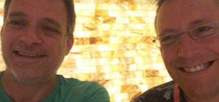 Bill Toth of St.Somewhere Spa and Glenn