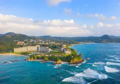 Halekulani Okinawa Aerial View