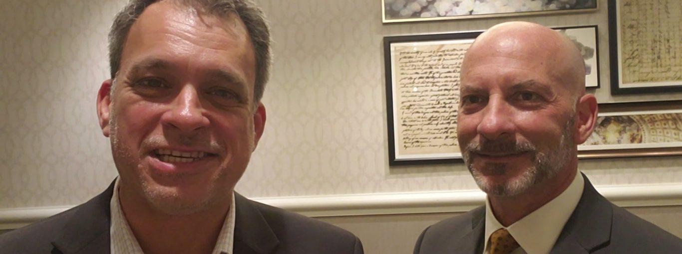 Ron Pohl and Glenn