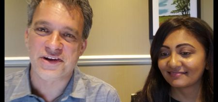 Zina Patel and Glenn