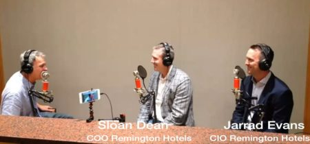 Sloan Dean and Jarrad Evans Remington Hotels