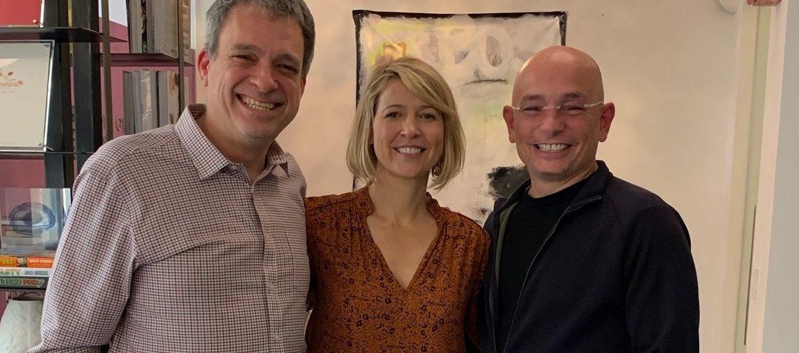 Samantha Brown, Anthony Melchiorri and Glenn