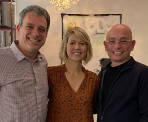 Samantha Brown, Anthony Melchiorri and Glenn